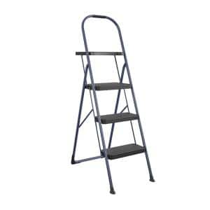 Big Step 3 Step with Tray Steel Step Stool, 225 lbs. Weight Capacity Ansi Type 2