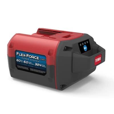 Flex-Force Power System 60-Volt Max 6.0 Ah Lithium-Ion L324 Battery