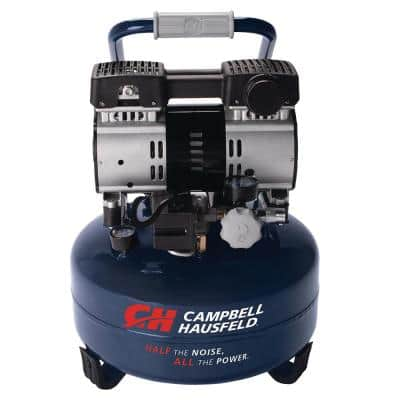 6 Gal. Electric Pancake Quiet Air Compressor