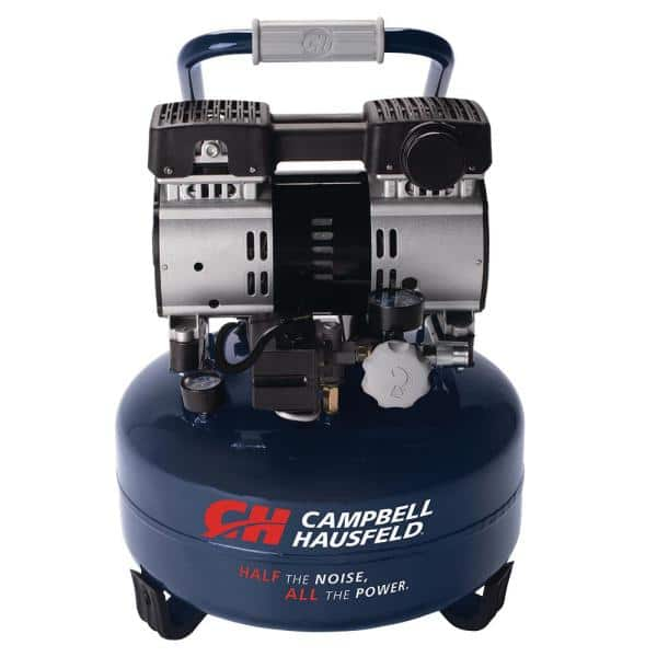 Campbell Hausfeld Six Gallon Electric Pancake Air Compressor
