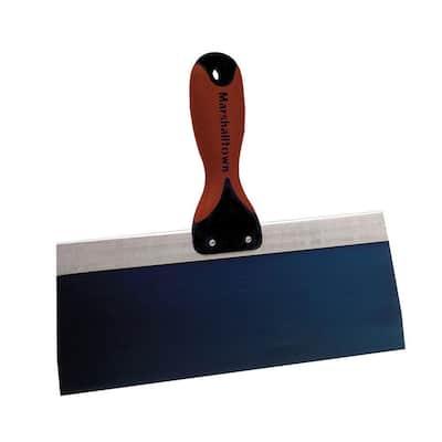 12 in. x 3-1/8 in. Blue Steel Tape Knife with DuraSoft II Handle