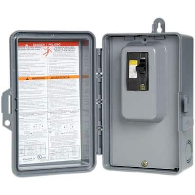 QO 60 Amp 240-Volt 7.5 kW Non-Fuse AC Disconnect