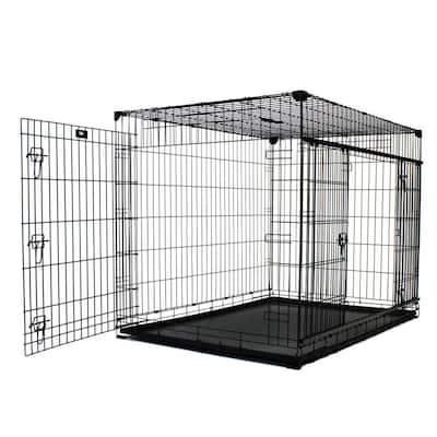 54 in. Double-Door Crate with Sliding Doors