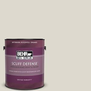 1 gal. #N320-1 Campfire Ash Extra Durable Eggshell Enamel Interior Paint & Primer