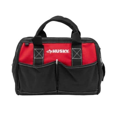 12 in 4 Pocket Zippered Tool Bag
