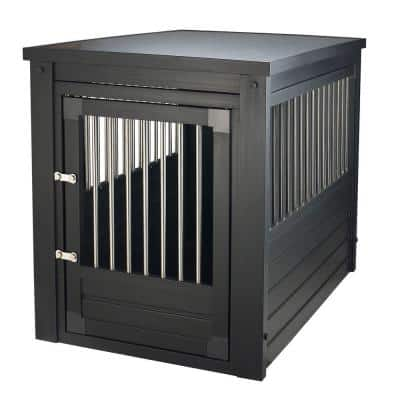 ECOFLEX Dog Crate - Espresso Large