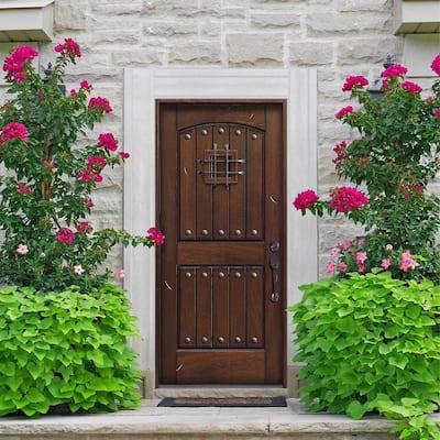 Rustic Mahogany Type Door Collection