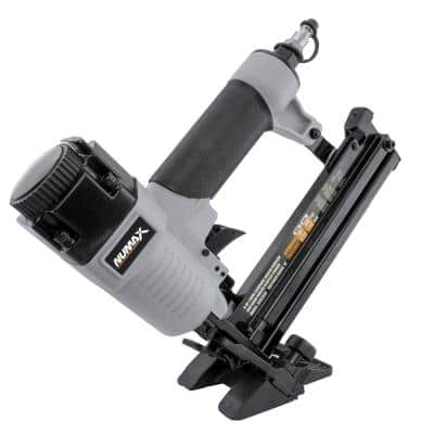Pneumatic 4-in-1 18-Gauge 1-5/8 in. Mini Flooring Nailer and Stapler with Canvas Bag