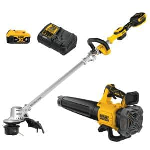 20-Volt MAX Cordless Lithium-Ion String Trimmer/Blower Combo Kit (2-Tool) with Battery and Charger