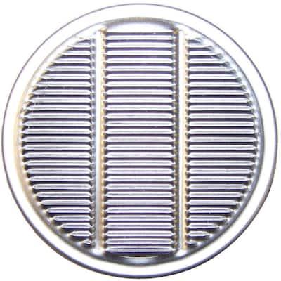 2 in. Aluminum Round Louvered Vulcan Vent