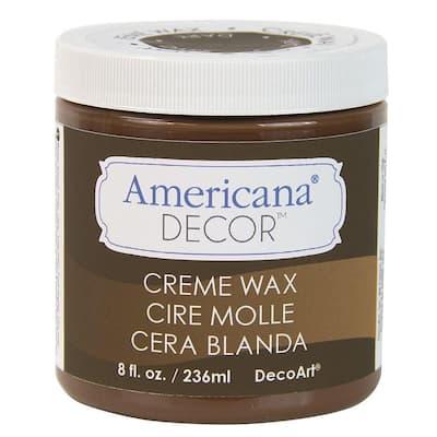 Americana Decor 8 oz. Deep Brown Creme Wax