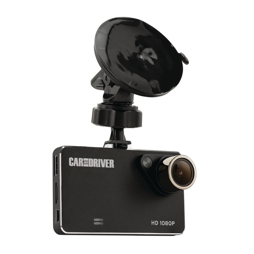 HD Slim Car Dash Cam with Loop Recording & Super Nightvision