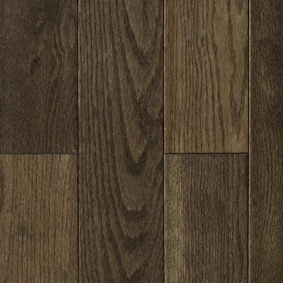 Oak Heritage Grey Hand Sculpted 3/4 in. Thick x 4 in. Wide x Random Length Solid Hardwood Flooring (16 sq. ft. / case)