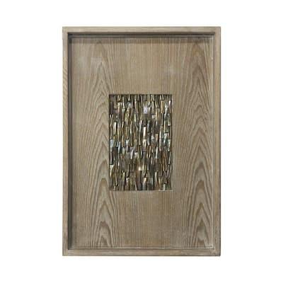 Modern Natural Chic Wood Wall Art