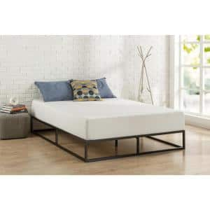 Joseph Black Metal Full 10 in. Platform Bed