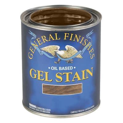 1 qt. Ash Gray Oil-Based Interior Wood Gel Stain