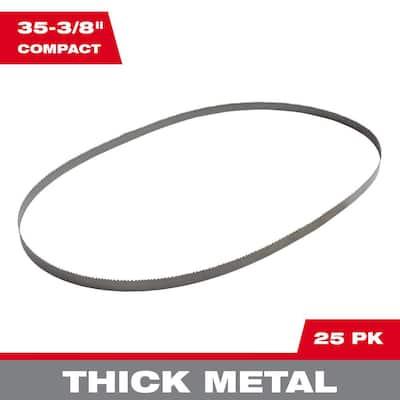 35-3/8 in. 10 TPI Bi-Metal Compact Band Saw Blade (25-Pack)