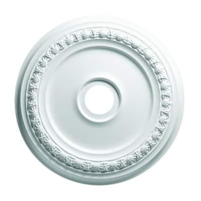 19 in. Shell and Bellflower Ceiling Medallion