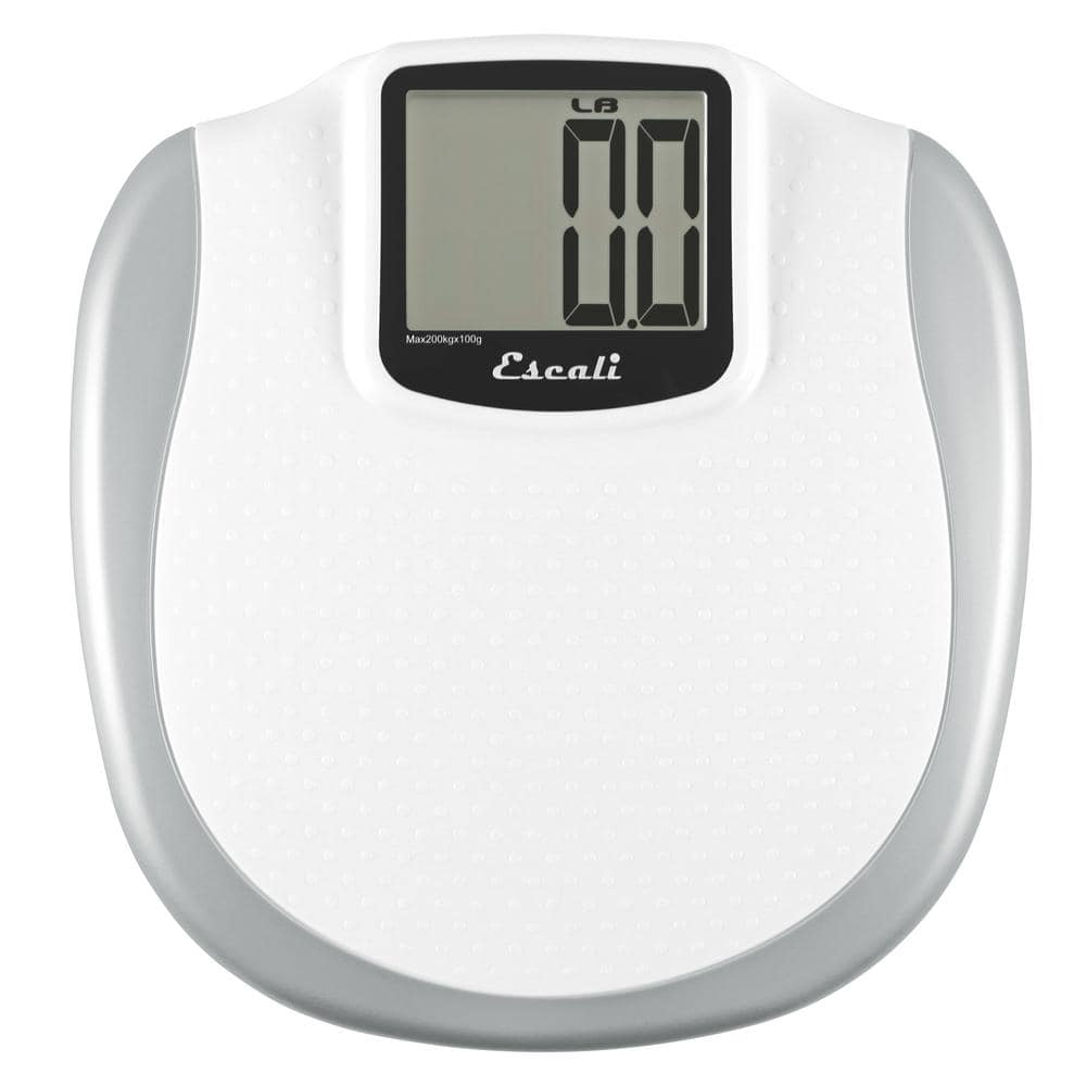 Escali Digital Extra Large Display Bathroom Scale Xl200 The Home Depot