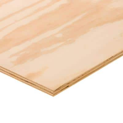 BC Sanded Plywood (Common: 23/32 in. x 2 ft. x 4 ft.; Actual: 0.703 in. x 23.75 in. x 47.75 in.)