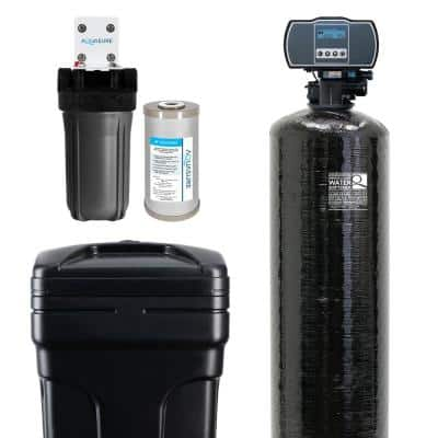 Harmony Series 64,000 Grain Electronic Metered Water Softener with Sediment and Carbon Pre-Filter