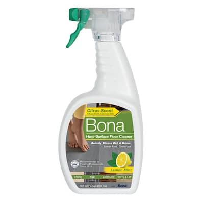 32 oz. Lemon Mint Hard-Surface Floor Cleaner
