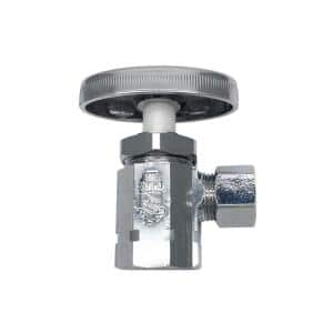 1/2 in. FIP x 3/8 in. O.D. Angle Stop Multi-Turn Angle Valve