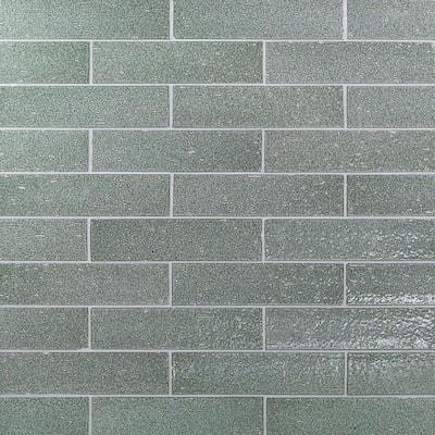 Rhythmic Tidewater 2 in. x 9 in. 12mm Glazed Clay Subway Tile (30-piece 4.63 sq. ft. / box)