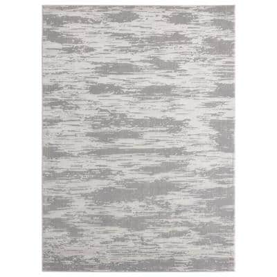 Cascades Salish Silver 12 ft. 6 in. x 15 ft. Area Rug