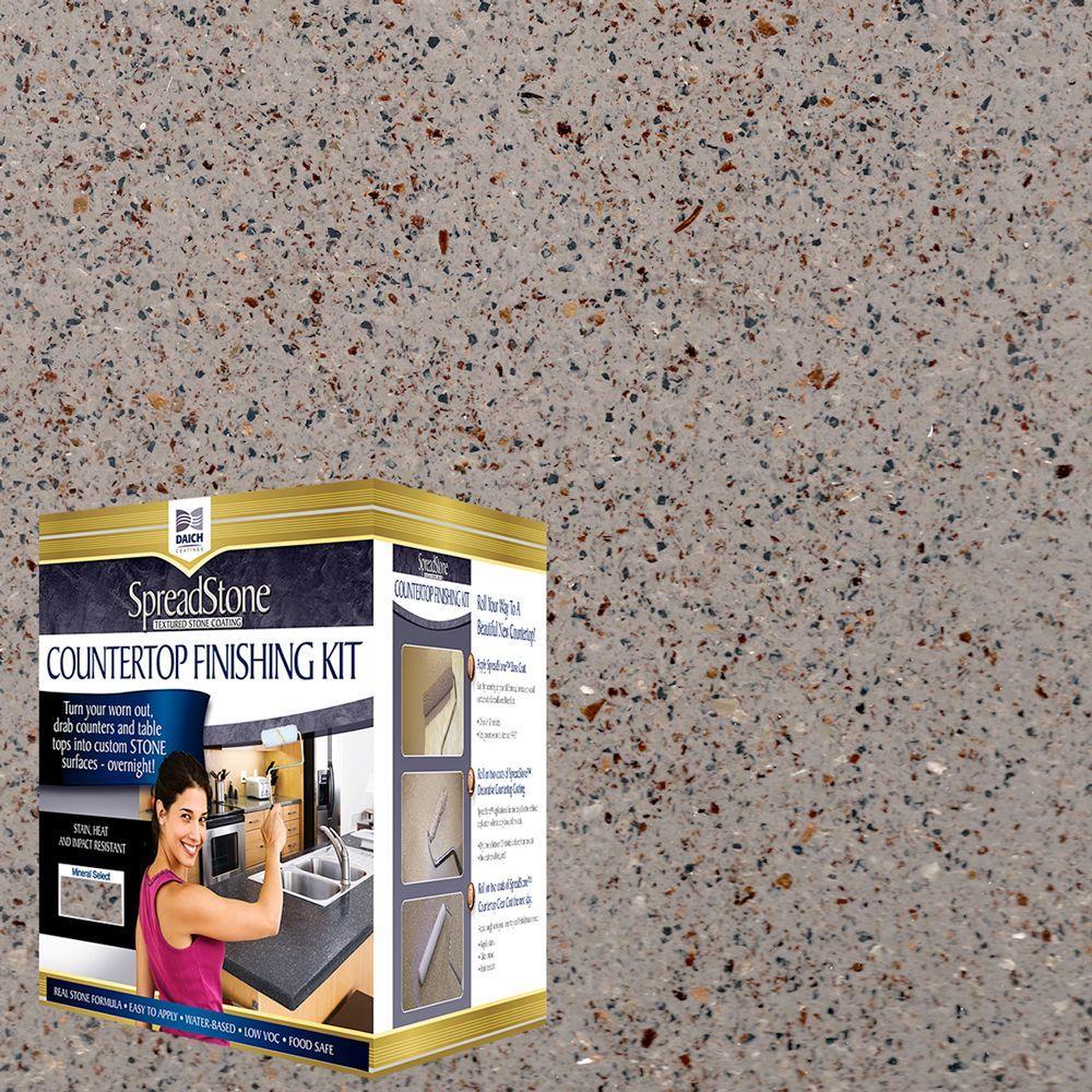 Mineral Select 1 qt. Mantle Stone Countertop Refinishing Kit