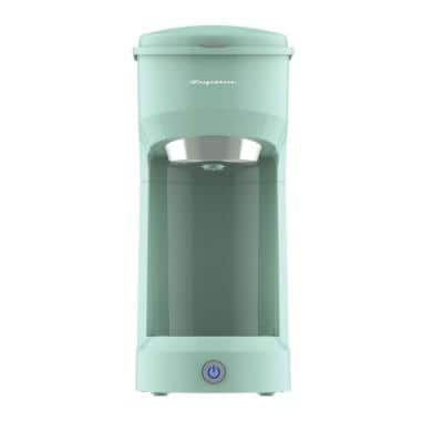 1-Cup Retro Coffee Maker in Mint Green