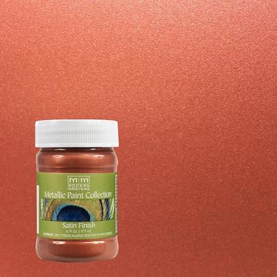 6 oz. Copper Water-Based Satin Metallic Interior Paint