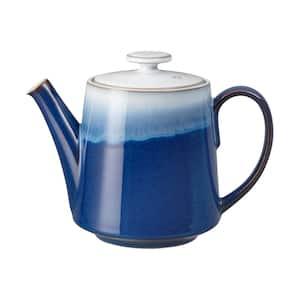 Blue Haze 8-Cup Stoneware Teapot