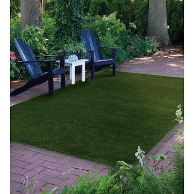 Green Landscape 6 ft. x 8 ft. Artificial Grass Rug