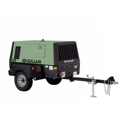 185 Gal. Tow-able Diesel Compressor - Cold Weather Package