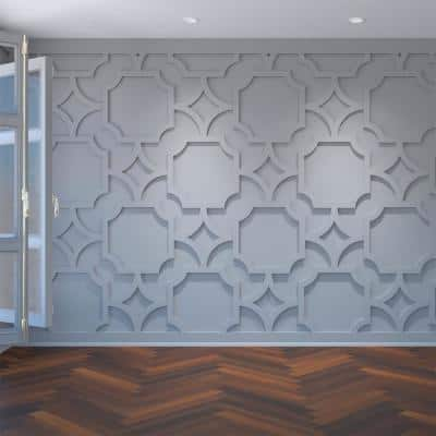 3/8 in. x 42-3/8 in. x 23-3/8 in. Anderson Decorative Fretwork Wall Panels in Architectural Grade PVC
