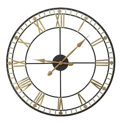 "Oversized 31.50"" Industrial Austin Wall Clock"