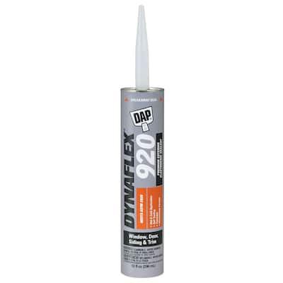 Dynaflex 920 10.1 oz. Gray GY719 Window, Door and Siding Premium Exterior Sealant (12-Pack)