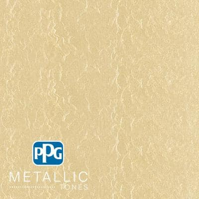 1 gal. #MTL132 Frosted Ivory Metallic Interior Specialty Finish Paint