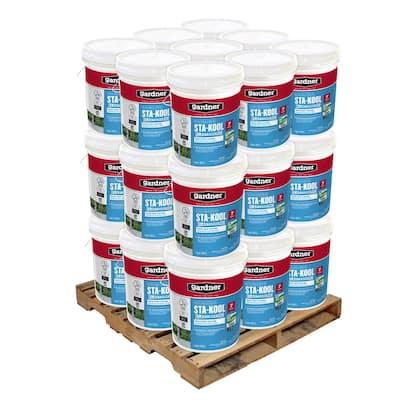 5 Gal. Sta-Kool Elastomeric White Reflective Roof Coating (27-Pallet)
