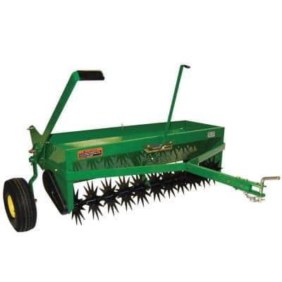 40 in. Tow-Behind Combination Aerator-Spreader