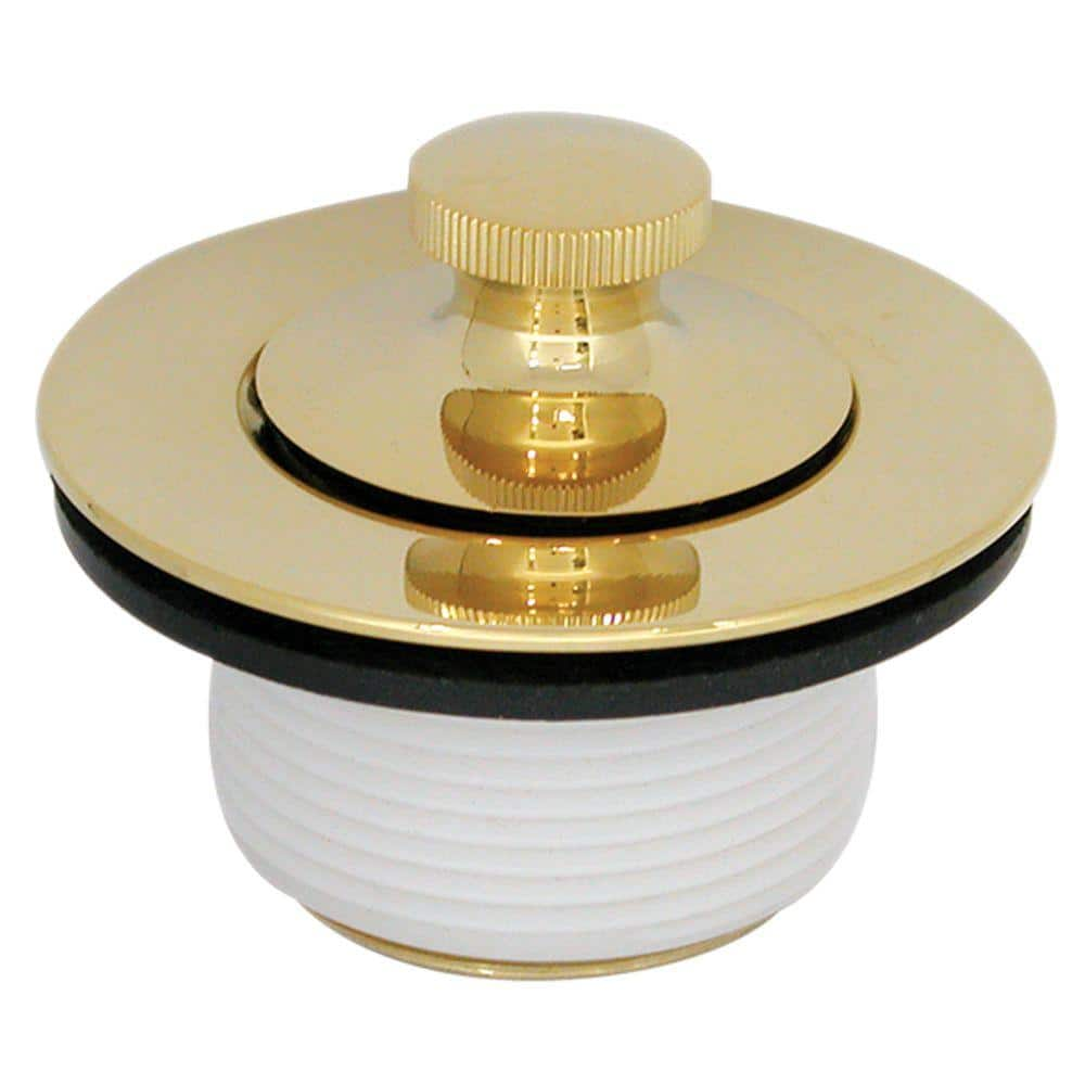 Danco Polished Brass Twist N Close Pvd Trim Kit In 89238 The Home Depot