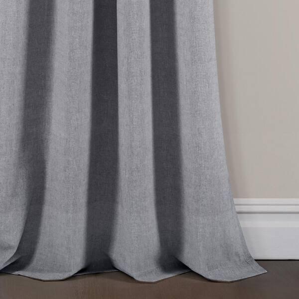 Stripe Window Panel in Gray ID 3942348 40 in Set of 2