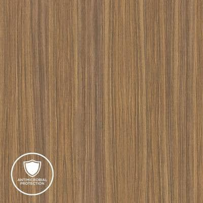 2 in. x 3 in. Laminate Sheet Sample in Zebrawood with Premium Linearity Finish