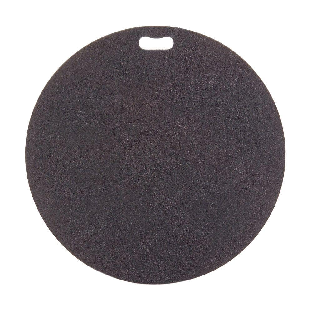 The Original Grill Pad 30 In Round Berry Black Deck Protector Gp 30 C Bk The Home Depot