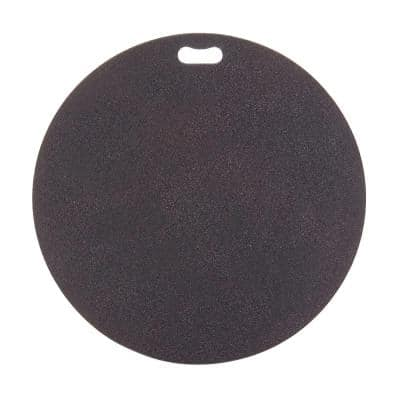 30 in. Round Berry Black Deck Protector