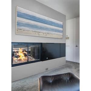 20 in. H x 60 in. W ''House Ipanema'' by Parvez Taj Printed White Wood Wall Art