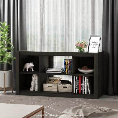 Fowler 43 in. Espresso Wood TV Stand Fits TVs Up to 50 in. with Open Storage