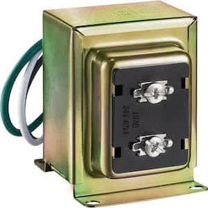 Wired 24V 40vA Doorbell Transformer for Powering Multiple Smart Doorbells and Thermostats
