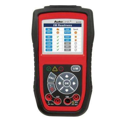 OBDII and Electrical Test Tool with AVO Meter